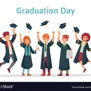 School Childrens, Children, School Girl, Girl child, Graduate students. Graduation day of university student
